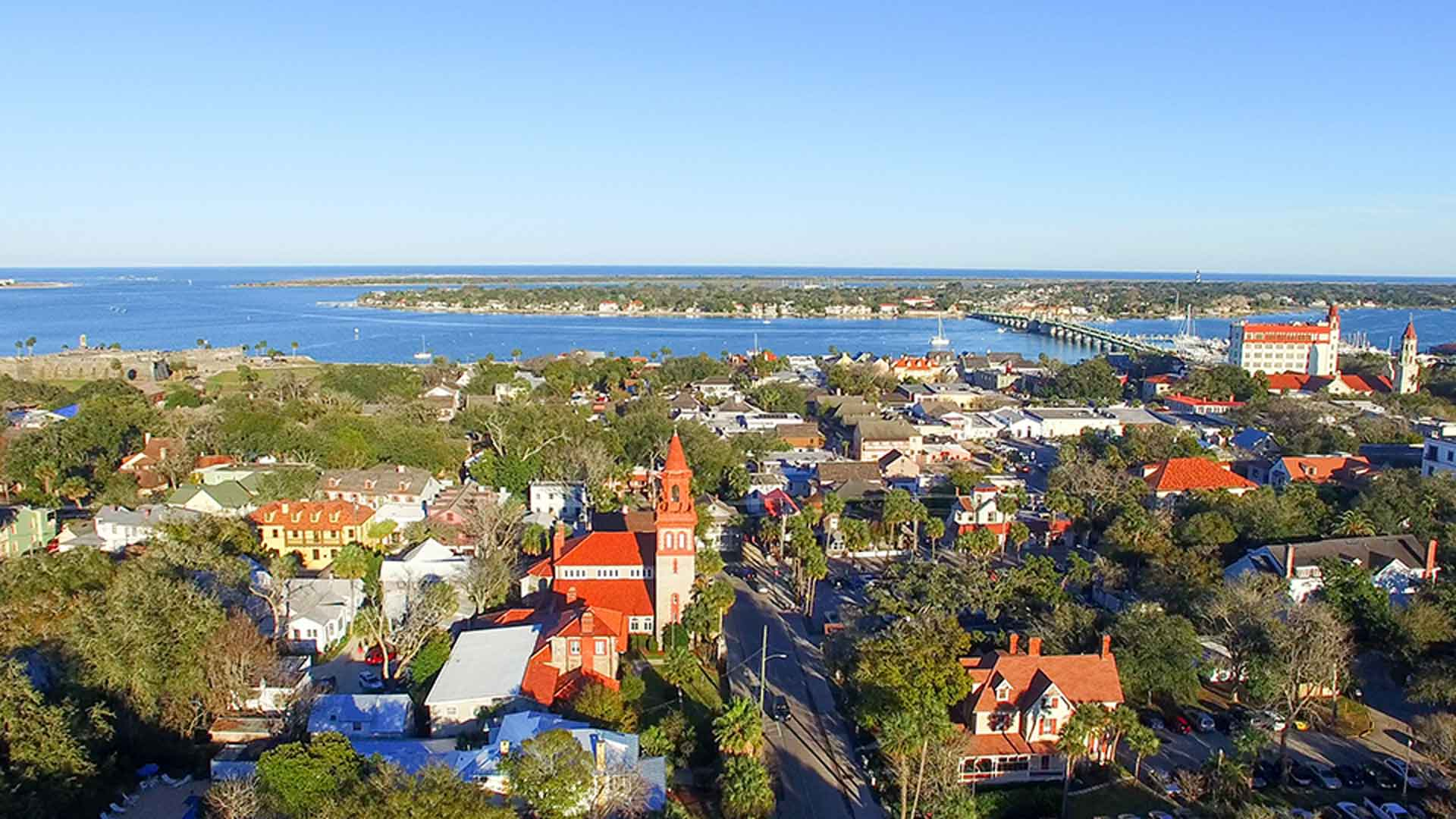 photo of st augustine florida for urban planning course