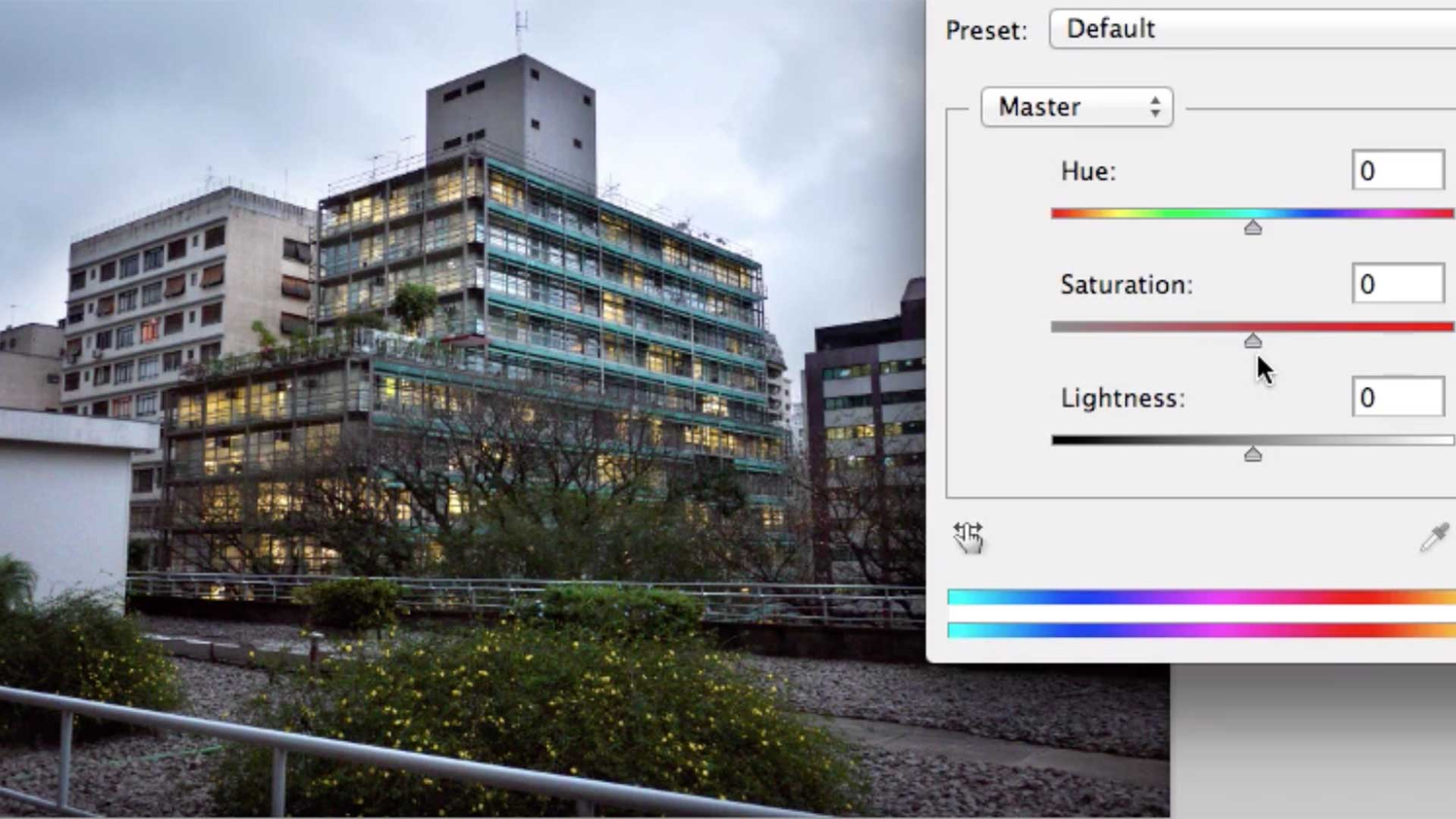 image of building manipulation in photoshop