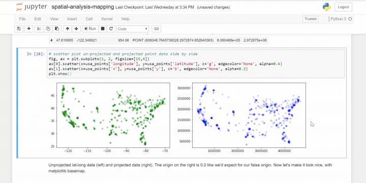 Python Geospatial Analysis and Mapping